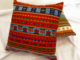 Cushion Covers Style 63206 Cotton Linen 45 x 45 cm for Sofas, Beds (Pack of 2)