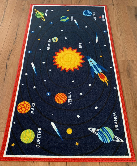 Galaxy 2016 Polyester Area Rug Anti-Slip Small Carpets / Runners for Living Room, Bedrooms