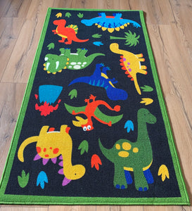 Dinosaur 2013 Polyester Area Rug Anti-Slip Small Carpets / Runners for Living Room, Bedrooms