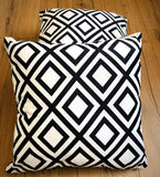 Cushion Covers Style 54804 Velvet 45 x 45 cm for Sofas, Beds (Pack of 2)