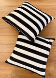 Cushion Covers Style 54801 Velvet 45 x 45 cm for Sofas, Beds (Pack of 2)