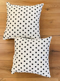 Cushion Covers Style 43615 Cotton Linen 45 x 45 cm for Sofas, Beds (Pack of 2)