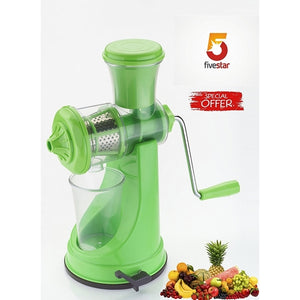 Manual Fruit and Vegetable Juicer Green Royal BPA Free