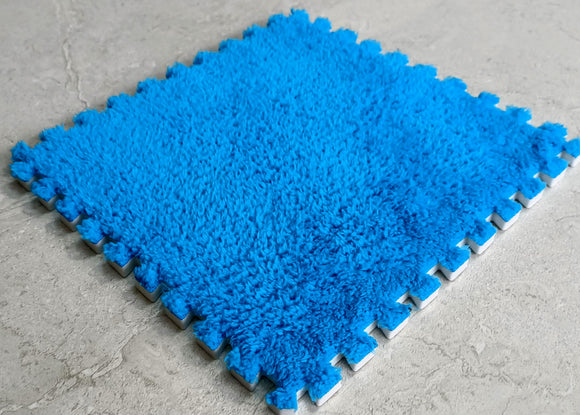 BuyElegant Blue EVA Rug 30 x 30 cm @www.buyelegant.co.uk