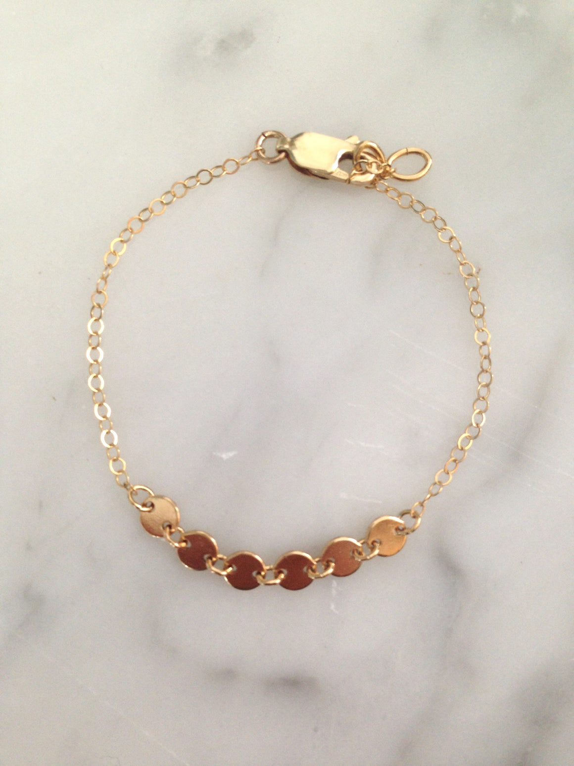 Little Coin Bracelet