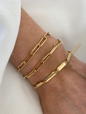 Double layer Bracelet or anklet (in the link collection)