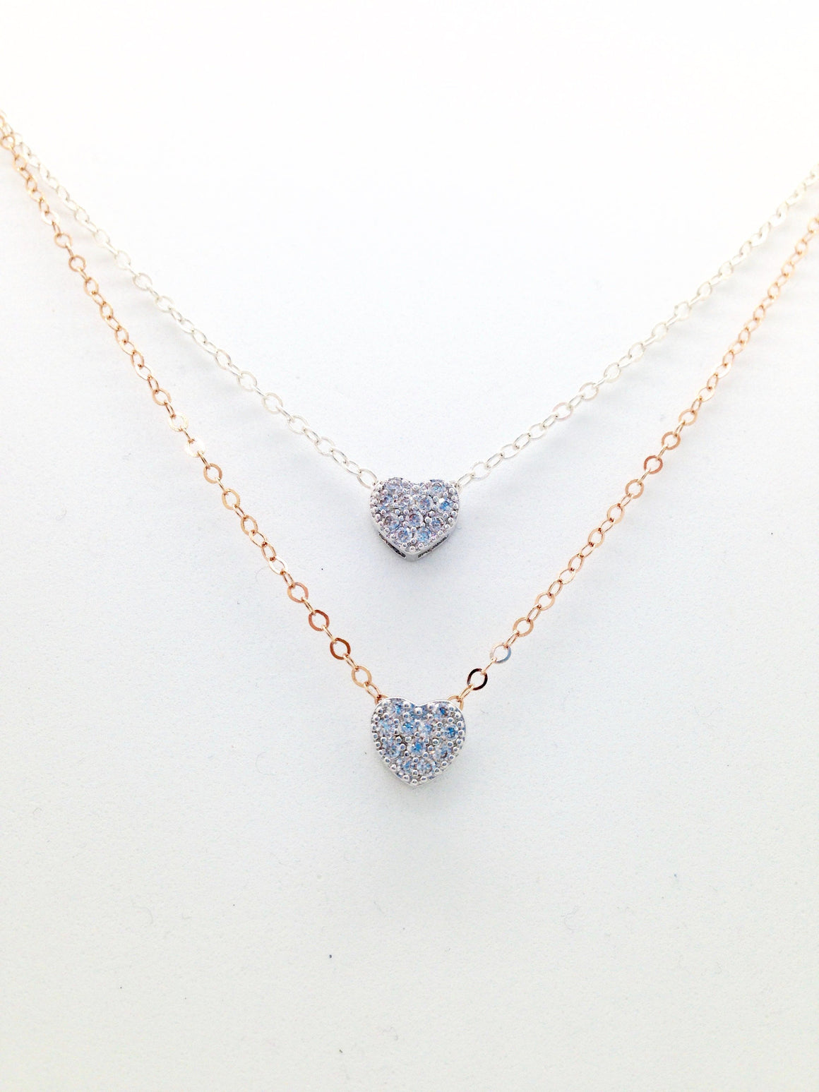 The Shiny Heart Necklace
