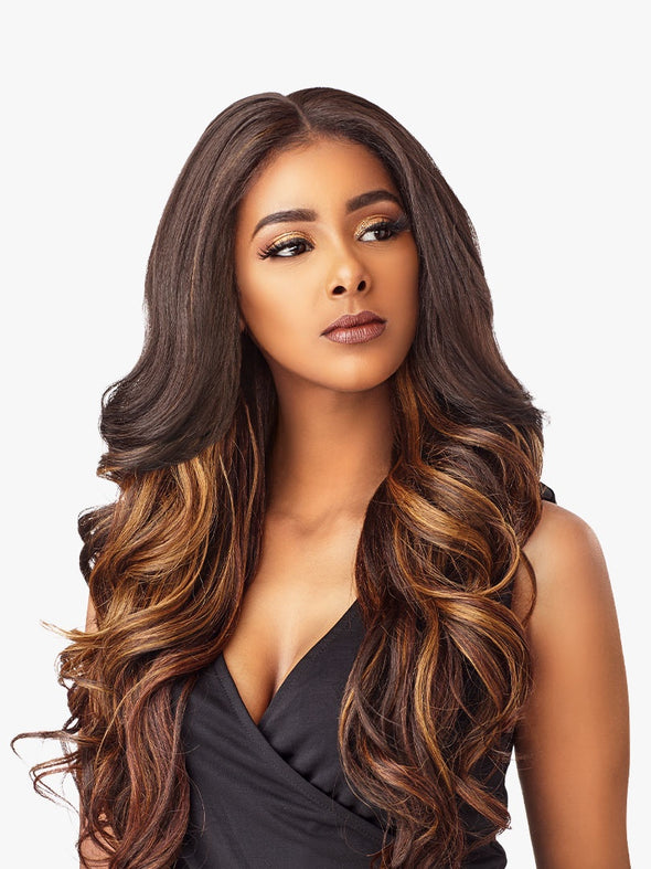 SENSATIONNEL SYNTHETIC HAIR LACE FRONT WIG CLOUD 9 WHAT LACE SWISS LACE 13X6 SOLANA