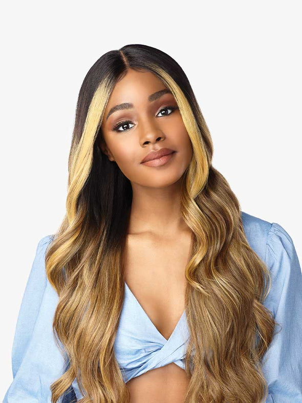 SENSATIONNEL SYNTHETIC HAIR LACE FRONT WIG DASHLY LACE WIG UNIT 8