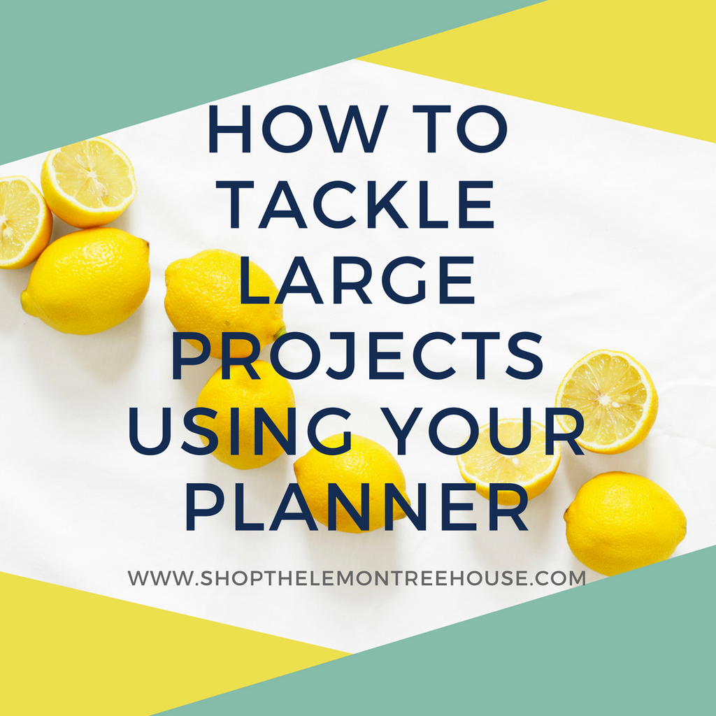How to tackle large projects with your Planner