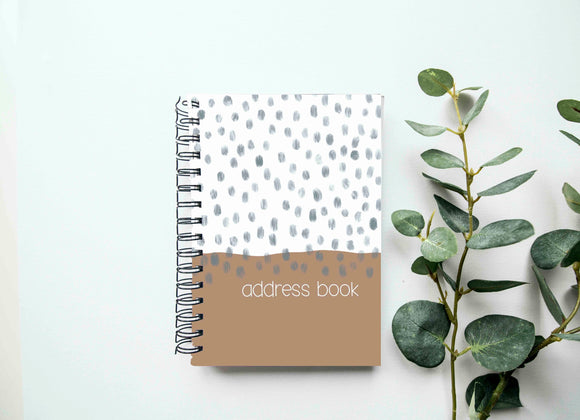 Address Book - Letter Writing Accessory - Snail Mail Accessories - Address Notebook - Contact Book