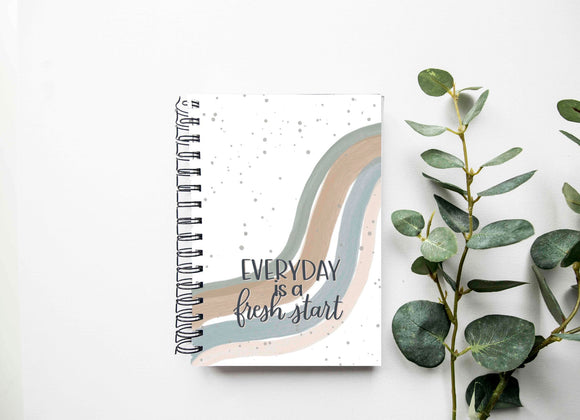 Daily Planner - Homeschool Organization - Daily Meal Planner - Project Planner - To Do List Notebook - Quarantine Schedule - Daily Planner