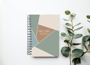 Home Planner - Home Organization - Budget Notebook - Project Planner - Cleaning Schedule - Yearly Planner - Household Chart - Vacation Plan