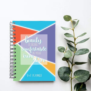 Rodan and Fields Planner - Direct Sales Yearly Agenda - R+F Planner - Rodan and Fields Consultant - R+F Goal Tracker