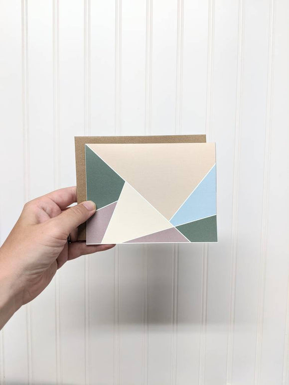 All Occasion Greeting Card - Notecard - Snail Mail - Minimal Birthday Card - Modern Greeting Card - Neutral Color