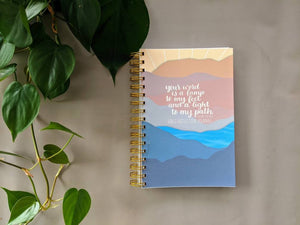Bible Reflection Journal - Bible Study Notebook - Bible Study