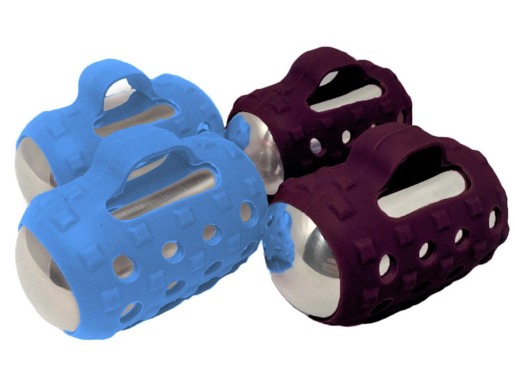 Blue and Burgundy Grip Sets (Grips Only)