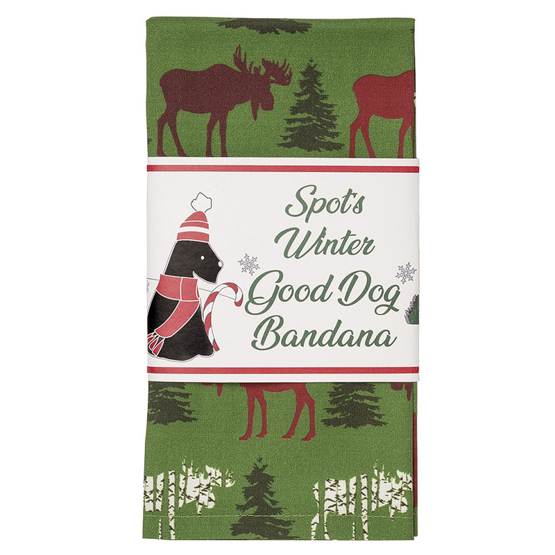 White Mountain Moose Good Dog Bandana ❄️