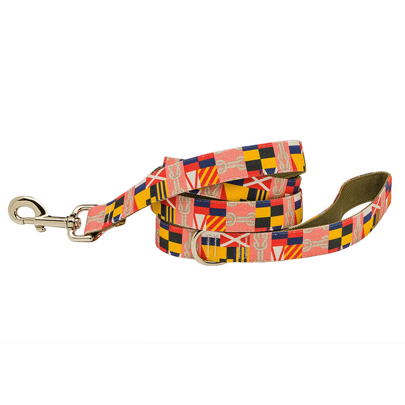 Our Good Dog Spot Corinthian Dog Lead Coral