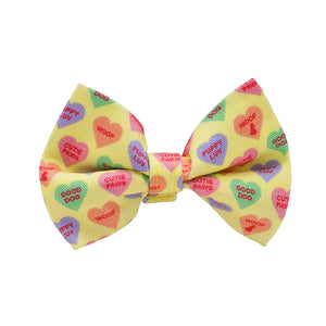 Our Good Dog Spot Sweet Hearts Valentine Bow Tie