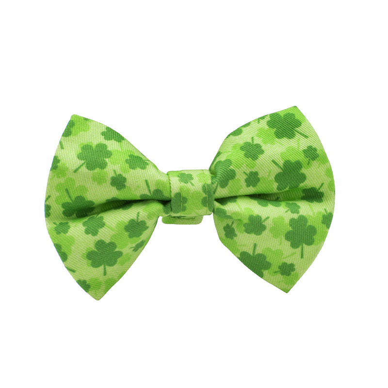 Our Good Dog Spot St. Patricks Day Bow Tie Luck of the Irish