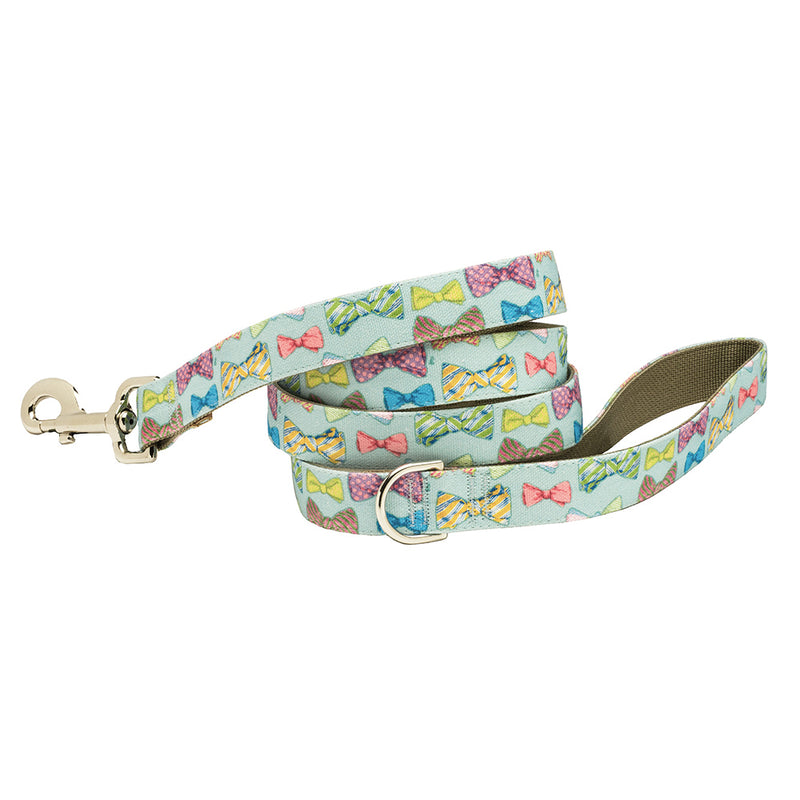 """After Five"" Bows and Bow Ties Dog Collar"