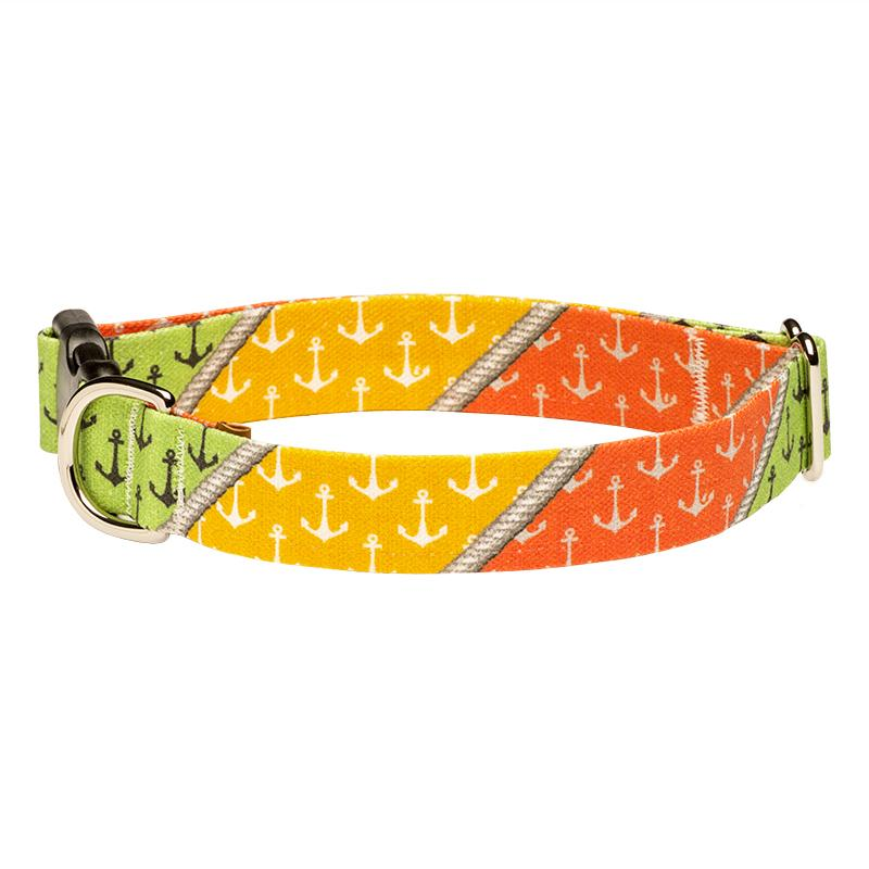 Our Good Dog Spot Sag Harbor Anchor Dog Collar