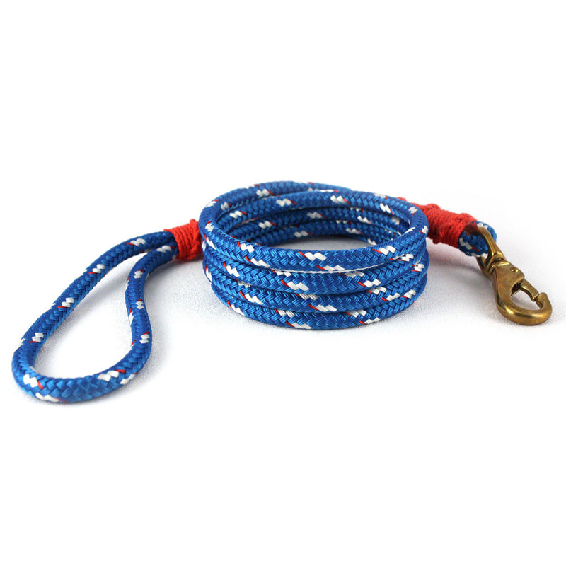 Our Good Dog Spot Newport Blue Large Lobsterman Lead