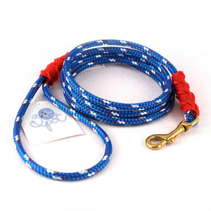 Our Good Dog Spot Newport Blue Small Lobsterman Lead