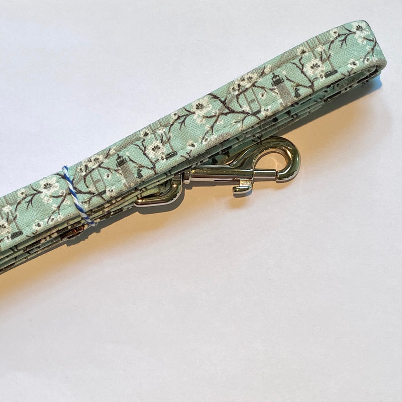 Newport Blossoms Dog Lead - Mint