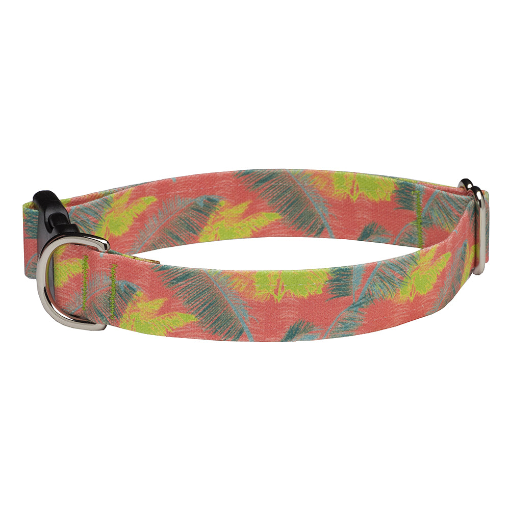 Our Good Dog Spot Palm Tropics Island Breeze Dog Collar