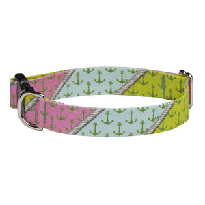 Our Good Dog Spot Palm Beach Anchor Dog Collar