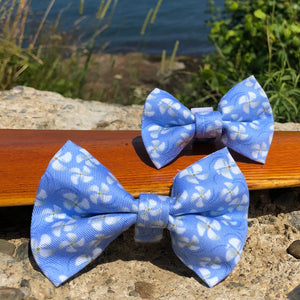 Our Good Dog Spot Propeller Bow Tie Periwinkle