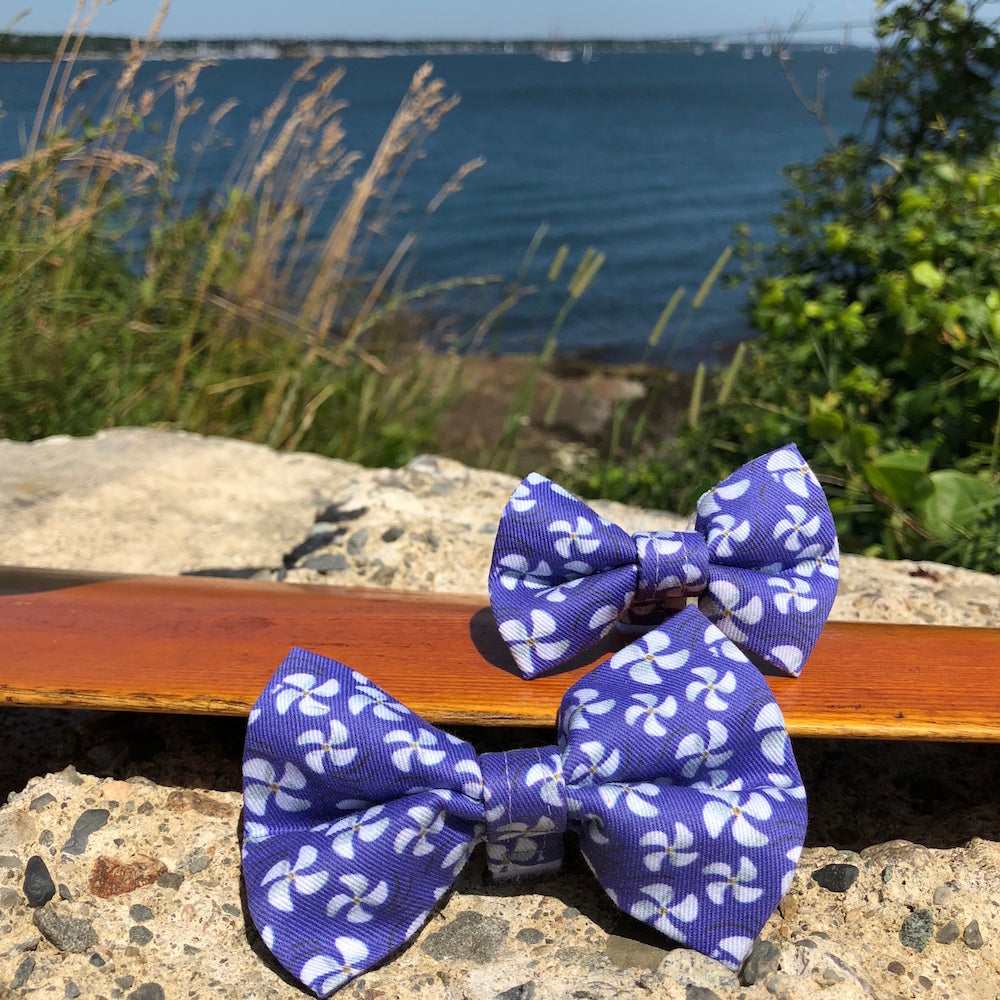 Our Good Dog Spot Purple Opulence Propeller Bow Tie