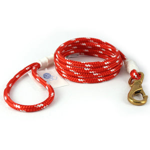 Our Good Dog Spot Large Sankaty Red Lobsterman Lead