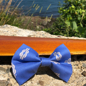 Our Good Dog Spot Royal Thames Knot Bow Tie - Blue