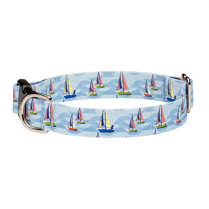 Our Good Dog Spot On the Wind Sailboat Dog Collar