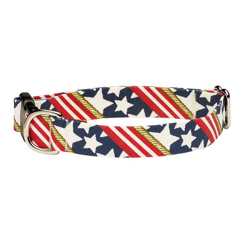 Our Good Dog Spot Stars and Stripes Forever dog collar
