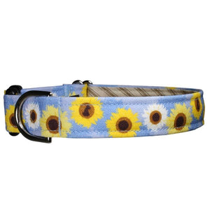 Our Good Dog Spot Sassy Sunflowers Periwinkle