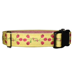 Our Good Dog Spot Timeless Tulips Dog Collar