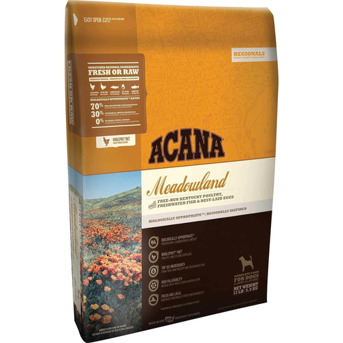 ACANA MEADOWLANDS 13LB-Four Muddy Paws