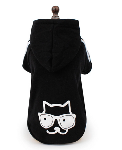 """Cool Dog"" Cotton & Fleece Hoodie"