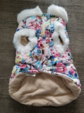 Floral Cotton & Fleece Lined Jacket