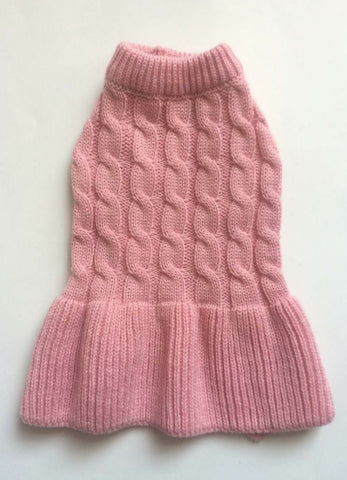 Knitted Cable Dress
