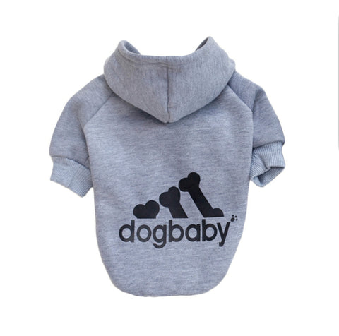 Dogbaby Cotton & Fleece Hoodie