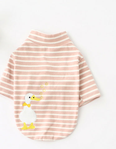 Striped Duck Tee