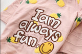 """I Am Always Fun"" pajamas"