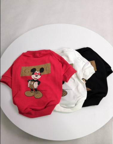 "Gucci ""Mickey Mouse"" Tee"
