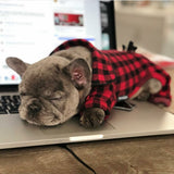Plaid Fleece Pyjama