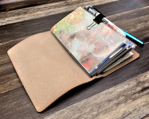 clear pocket dashboard for travelers notebooks